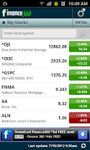 Finance 360- screenshot thumbnail