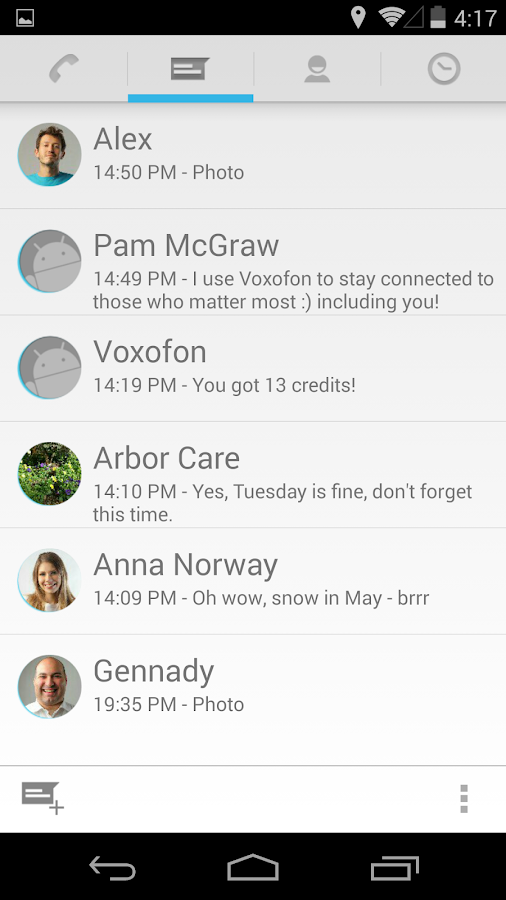 Free Calls & Text Messenger - screenshot