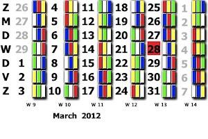 Screenshot of Tata Ploegendienst kalender hi