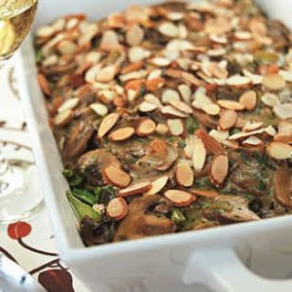 Chicken, Mushroom & Wild Rice Casserole.