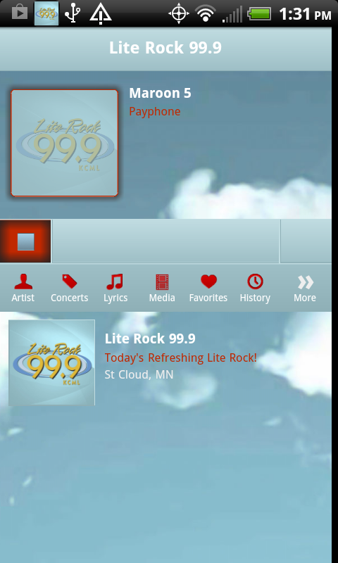 Lite Rock 99-9 - screenshot