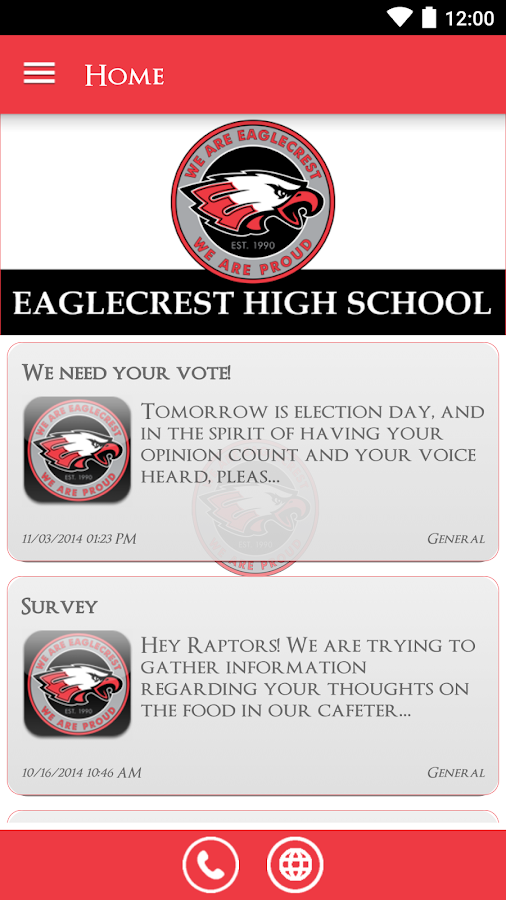 Eaglecrest High School- screenshot