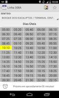 Screenshot of Bus Times São José dos Campos