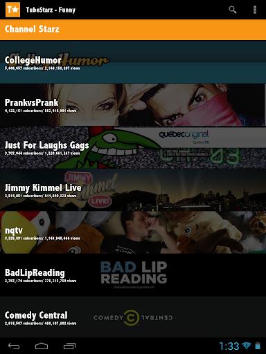 【免費娛樂App】TubeStarz - Funny-APP點子