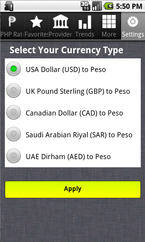 Forex rates aed to php