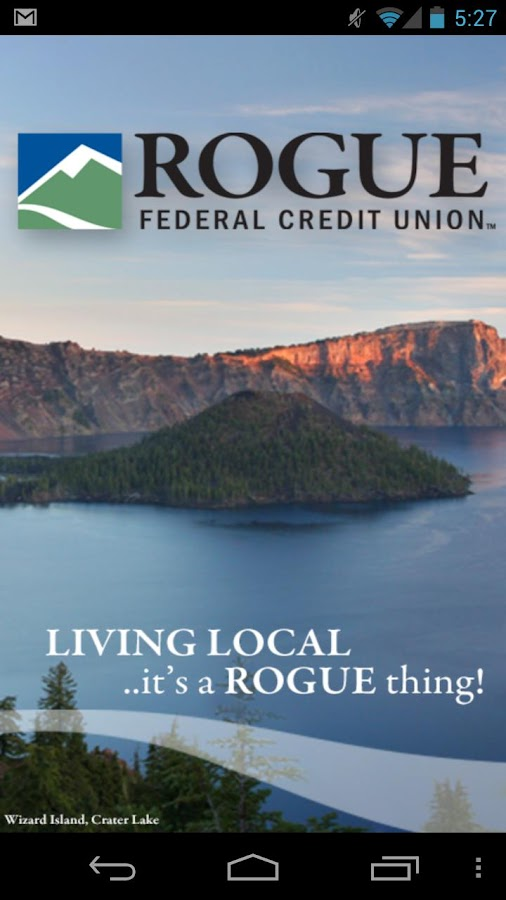 Rogue Federal Credit Union - screenshot