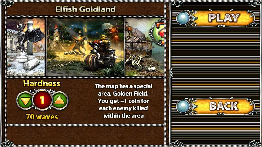 MD map: Elfish Goldland - screenshot