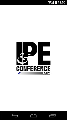 IPE Conference Awards