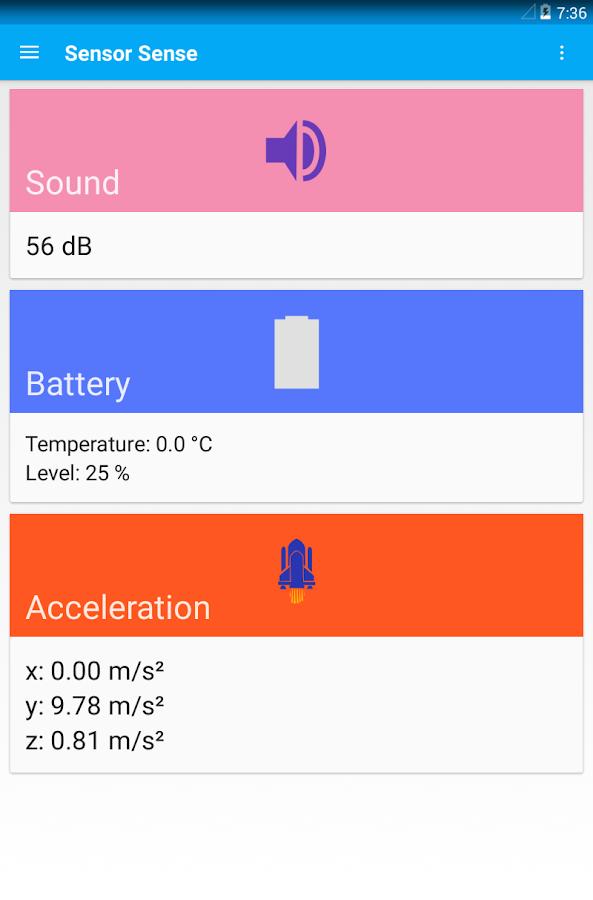 Sensor Sense - screenshot