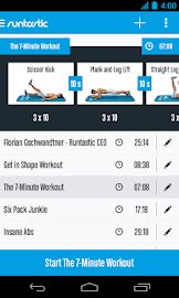 Runtastic Six Pack Abs Workout Screenshot 5