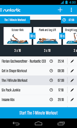 Runtastic Six Pack Abs Workout 1.3 screenshot 31795