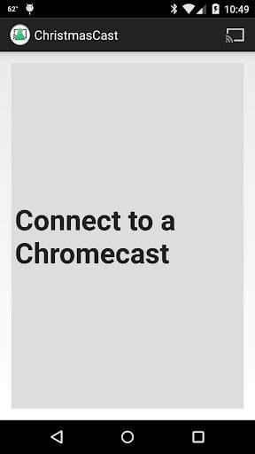 Christmas Clock for Chromecast