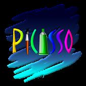 피카소 - 스크래치, 스탬프 그림판