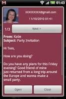 Screenshot of E-mail Notifier