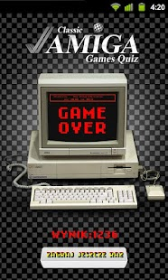 Amiga Games Quiz - screenshot thumbnail