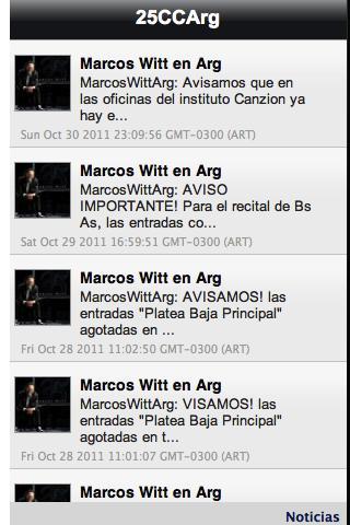 25 Concierto Conmemorativo Arg - screenshot
