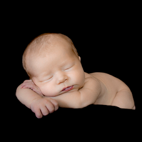 Sweet Dreams by Amber Welch - Babies & Children Babies ( pose, infant, lips, tired, baby, sleeping, boy, newborn )