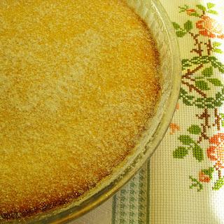 Coconut Pudding Pie.