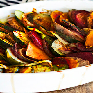 Spiced Summer Vegetable Casserole.