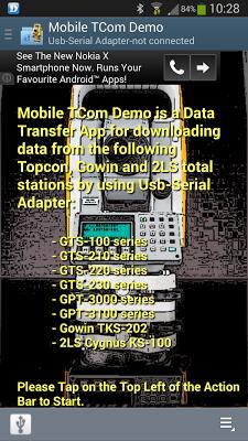 Mobile TCom Demo - screenshot