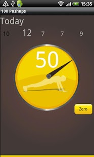 Hundred Pushups Free- screenshot thumbnail