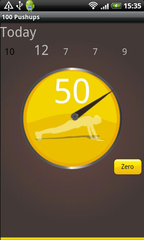 Hundred Pushups Free - screenshot