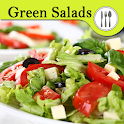 Green salad recipes. icon
