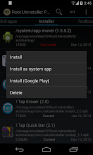 Root Uninstaller - screenshot thumbnail