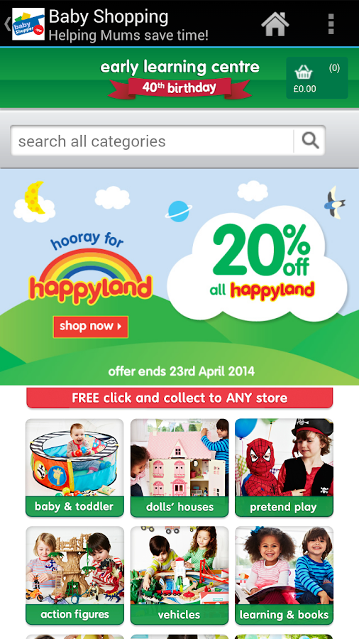 Baby shopping android apps on google play for Bodendirect outlet