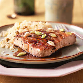 Balsamic-Glazed Tuna.