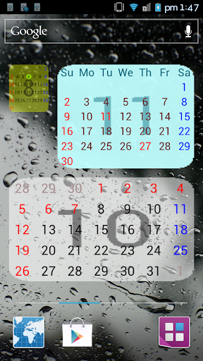 Download Month Calendar Widget For Android