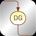Diagrid icon