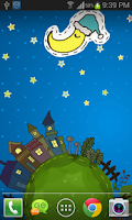 Screenshot of Cartoon City Live Wallpaper