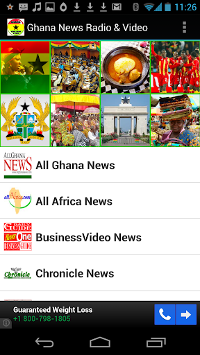 Ghana Newspaper Video