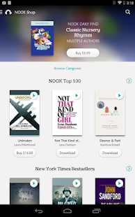 NOOK Audiobooks- screenshot thumbnail