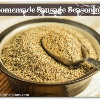 Sausage Seasoning Mix (casein-free, egg-free, gluten-free, nut-free, sugar-free, yeast-free)