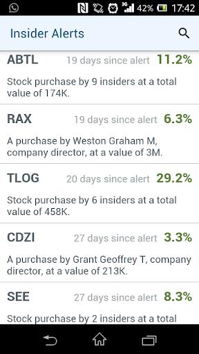 Insider Stocks