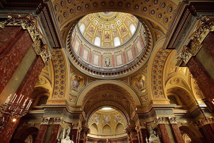 St. Stephen's Basilica in Budapest, Hungary.
