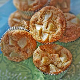 Pear Polenta Muffins.