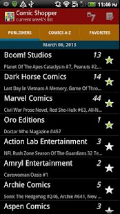 Comic Shopper - screenshot thumbnail
