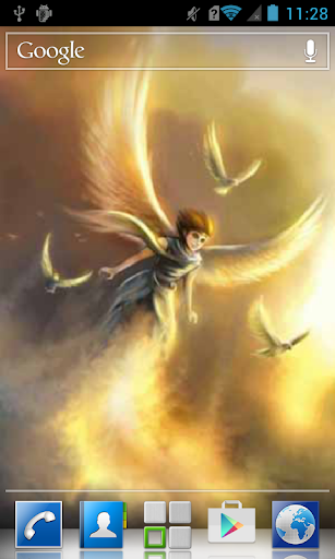 Man with wings LWP