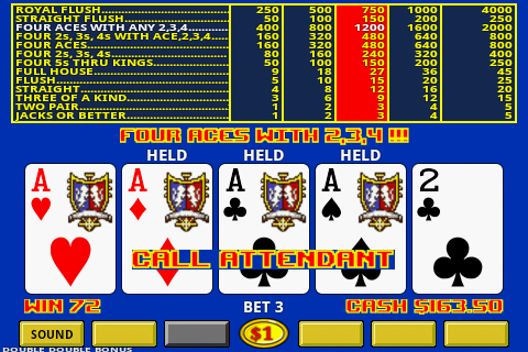 Video Poker- screenshot
