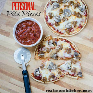 Personal Pita Pizzas