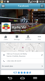 Radio Vie- screenshot thumbnail