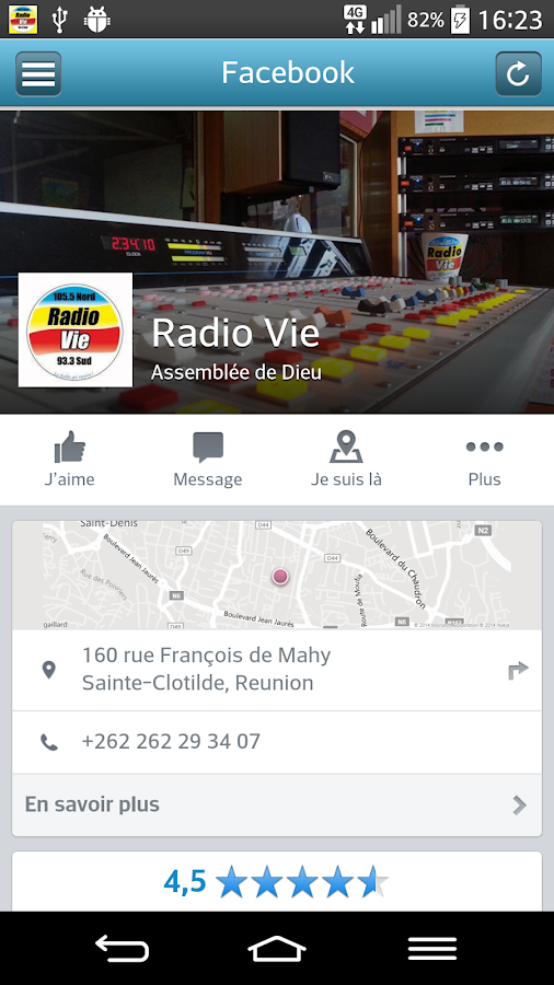 Radio Vie- screenshot