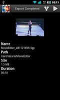 Screenshot of Movie Editor