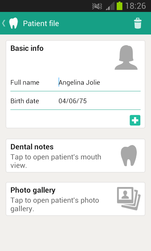 Dentist Manager - screenshot