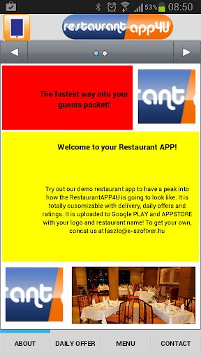 RestaurantAPP4U