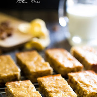 Apple and Date Cornbread Protein Bars