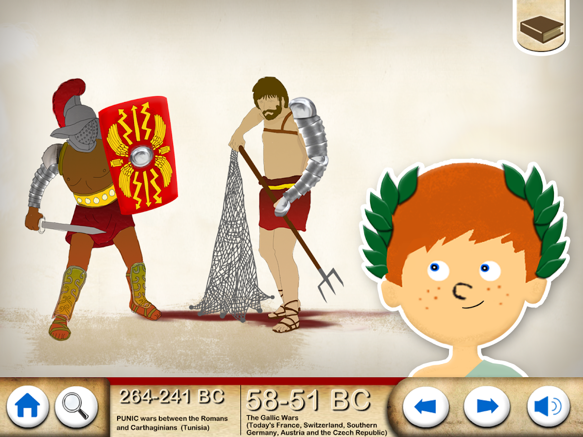 Ancient History  - The Romans- screenshot